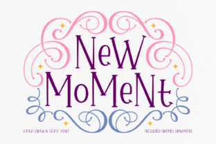 Print on Demand: New Moment Sans Serif Font By Situjuh