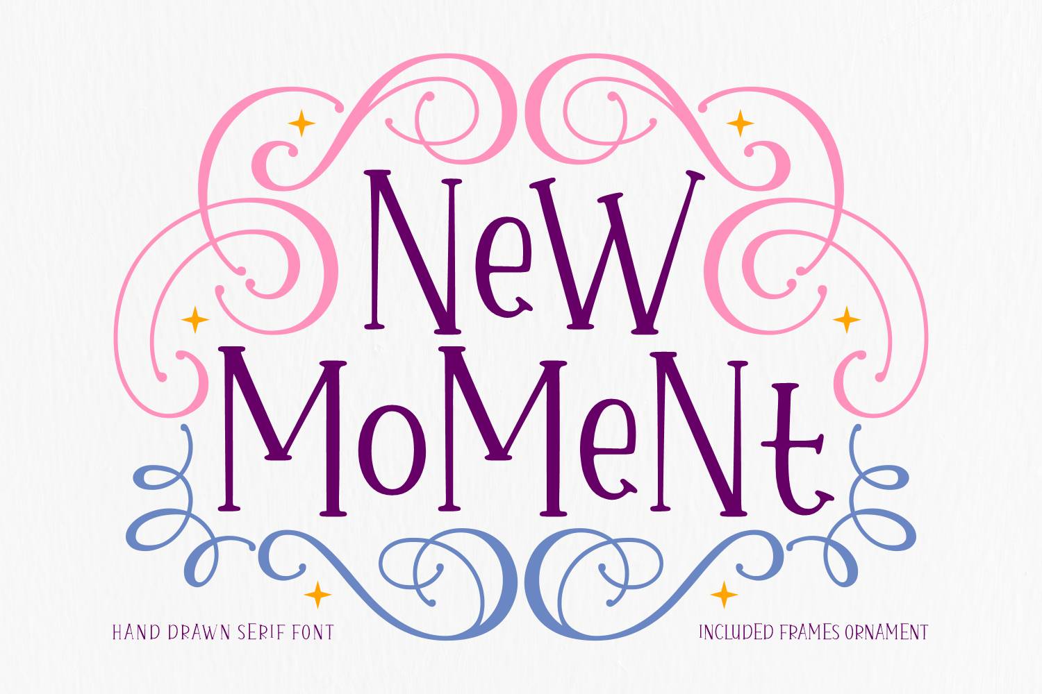 Download Free New Moment Font By Situjuh Creative Fabrica for Cricut Explore, Silhouette and other cutting machines.