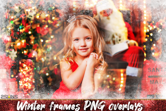 Photoshop Overlays Christmas Frames Graphic Layer Styles By 2SUNS