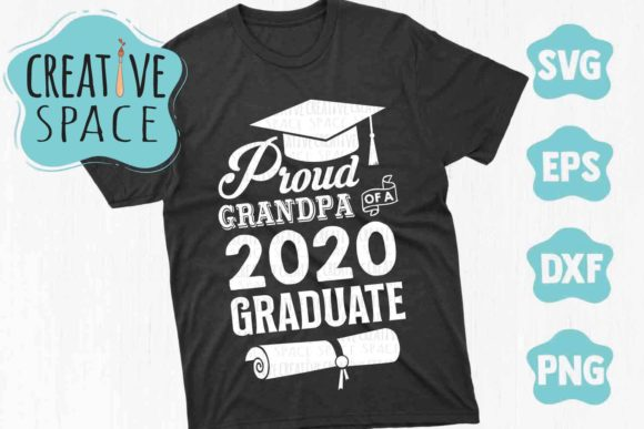 Proud Grandpa of a 2020 Graduate Graphic Crafts By creativespace