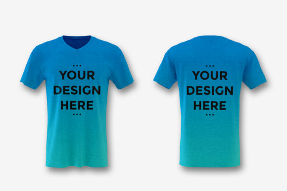 Download Free Showcase Of Cotton V Neck T Shirt Mockup Graphic By Suedanstock for Cricut Explore, Silhouette and other cutting machines.