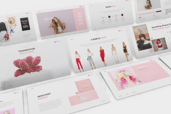 Download Free Tullsta Lookbook Keynote Template Graphic By Formatikastd for Cricut Explore, Silhouette and other cutting machines.