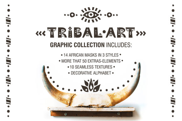 Print on Demand: Africa - Tribal-art Collection Graphic Illustrations By struvictory - Image 2