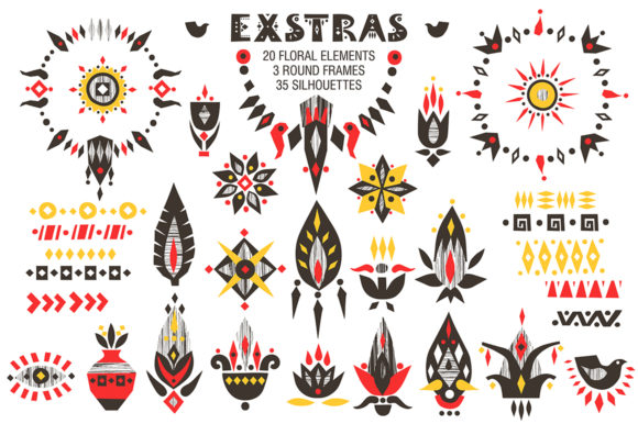 Print on Demand: Africa - Tribal-art Collection Graphic Illustrations By struvictory - Image 6