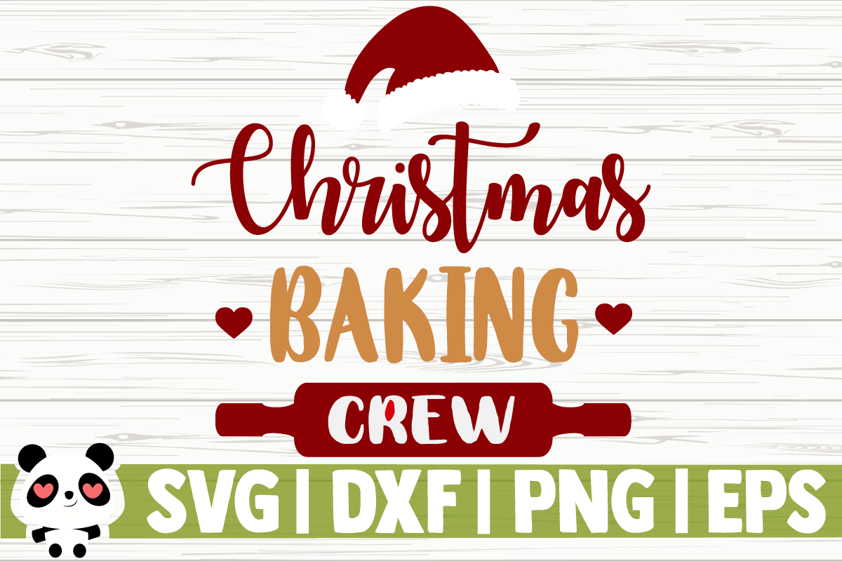 Download Free Christmas Baking Crew Graphic By Creativedesignsllc Creative for Cricut Explore, Silhouette and other cutting machines.
