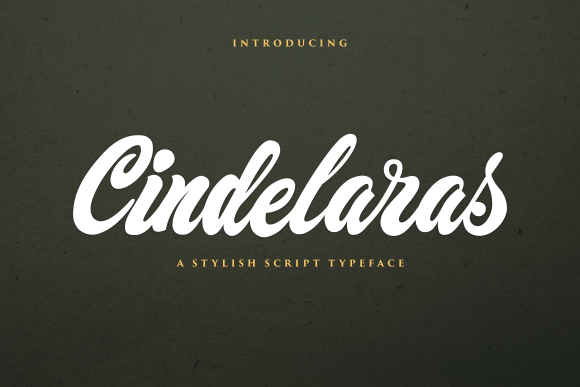 Print on Demand: Cindelaras Script & Handwritten Font By Ngattboy