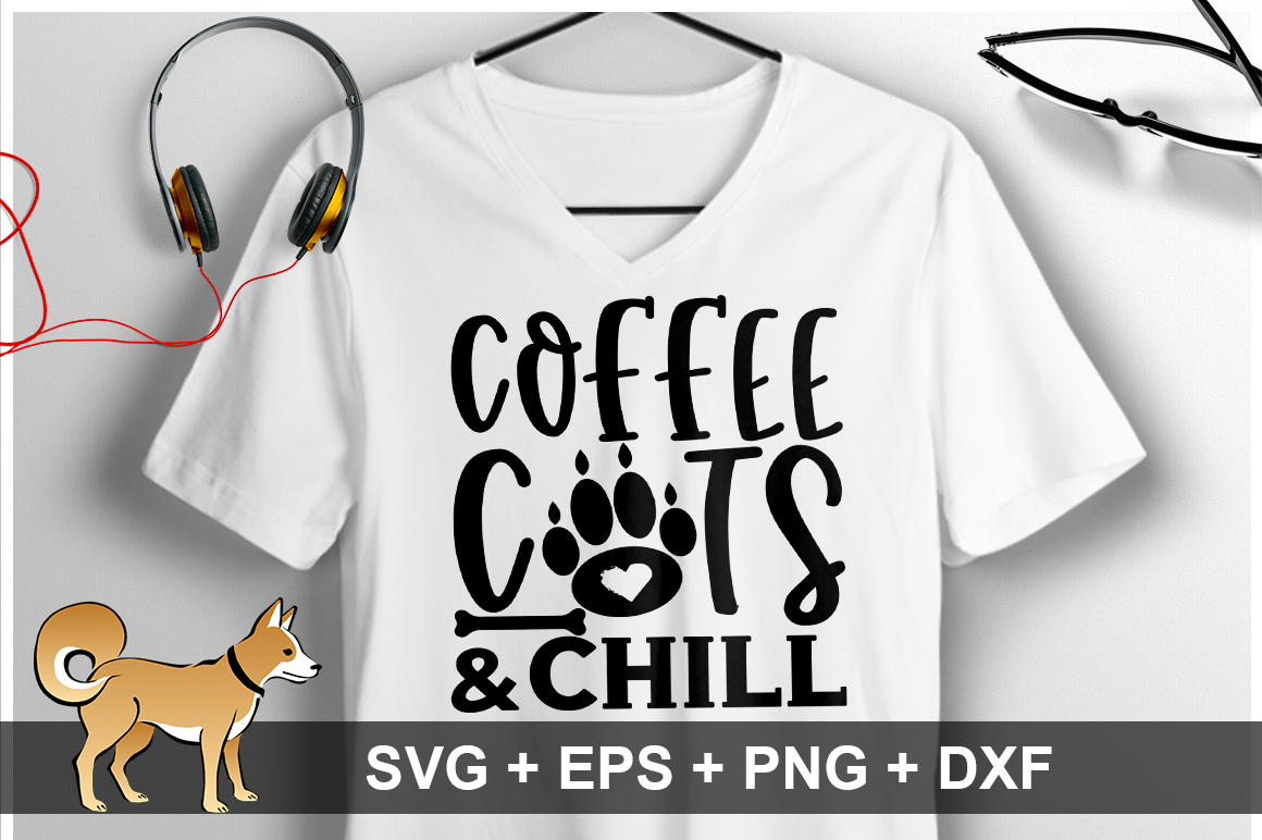 Download Free Coffee Cats And Chill Svg Graphic By Orindesign Creative Fabrica for Cricut Explore, Silhouette and other cutting machines.