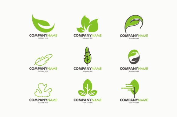 Download Free Eco Green Leaf Logo Template Eps 10 Graphic By Ahsancomp Studio for Cricut Explore, Silhouette and other cutting machines.