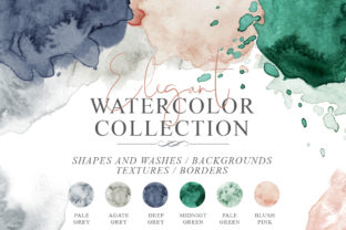 Elegant Watercolor Backgrounds Graphic Backgrounds By EvgeniiasArt