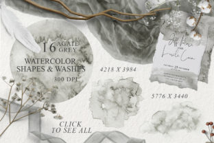 Elegant Watercolor Backgrounds Graphic Backgrounds By EvgeniiasArt 5