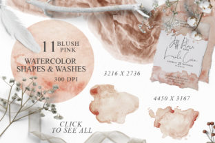 Elegant Watercolor Backgrounds Graphic Backgrounds By EvgeniiasArt 8