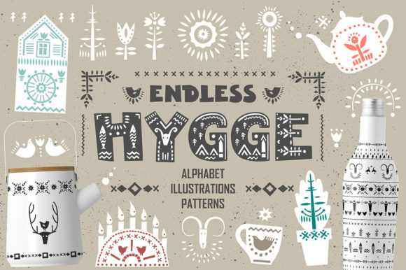 Print on Demand: Endless Hygge - Graphic Collection Graphic Illustrations By struvictory - Image 1