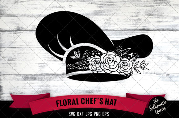 Download Free Floral Police Hat Graphic By Thesilhouettequeenshop Creative for Cricut Explore, Silhouette and other cutting machines.