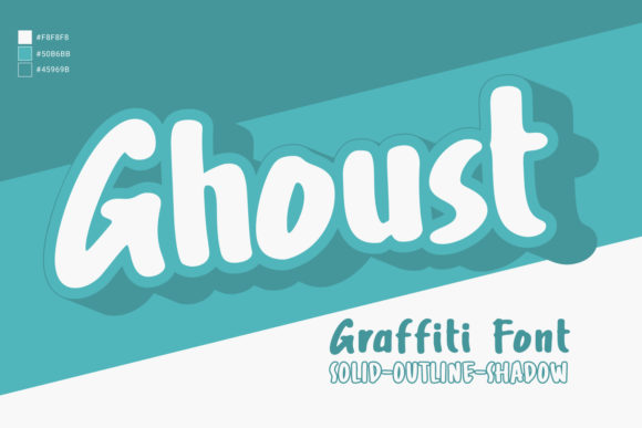 Print on Demand: Ghoust Display Font By Cititype