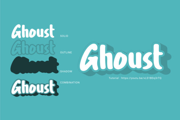 Print on Demand: Ghoust Display Font By Cititype - Image 2