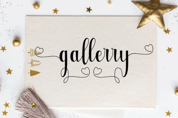 Glettaly Font Preview