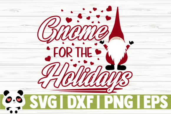 Download Free Gnome For The Holidays Graphic By Creativedesignsllc Creative for Cricut Explore, Silhouette and other cutting machines.