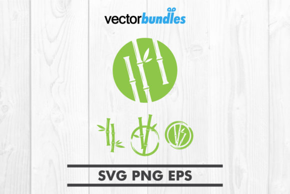 Download Free Green Bamboo Graphic By Vectorbundles Creative Fabrica for Cricut Explore, Silhouette and other cutting machines.