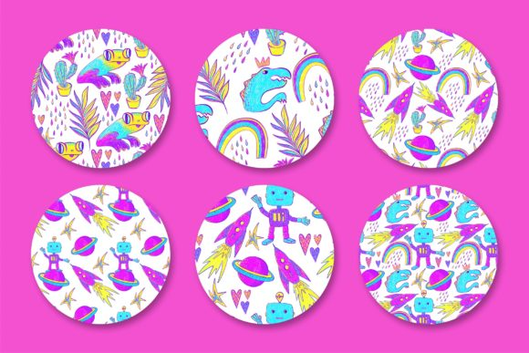 Hello, World! Kid's Patterns Graphic Patterns By MarynArts - Image 2