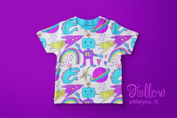 Hello, World! Kid's Patterns Graphic Patterns By MarynArts - Image 3