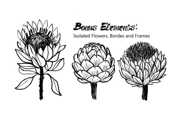Inky Plants - 15 Botanical Patterns Graphic Patterns By MarynArts - Image 10