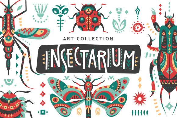 Print on Demand: Insectarium - Art Collection Graphic Illustrations By struvictory