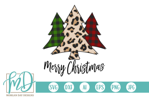 Print on Demand: Merry Christmas Graphic Crafts By Morgan Day Designs