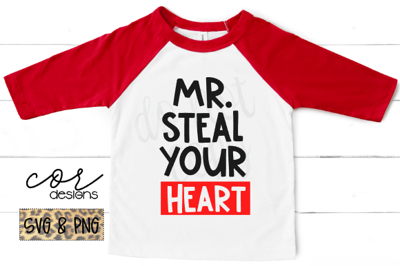 Download Free Mr Steal Your Heart Graphic By Designscor Creative Fabrica for Cricut Explore, Silhouette and other cutting machines.