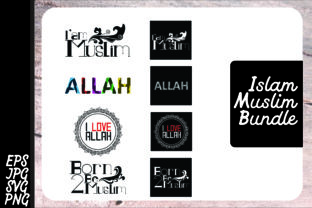 Download Free Muslim Islam Quotes Bundle Graphic By Arief Sapta Adjie for Cricut Explore, Silhouette and other cutting machines.