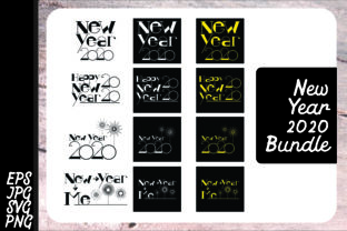 Download Free New Year 2020 Svg Bundle Graphic By Arief Sapta Adjie Creative for Cricut Explore, Silhouette and other cutting machines.