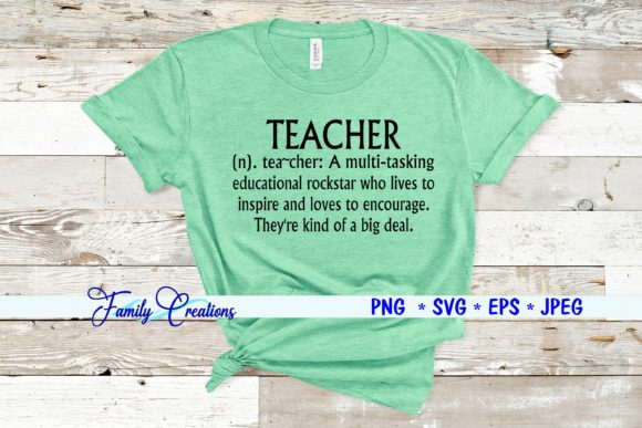 Teacher Graphic Crafts By Family Creations