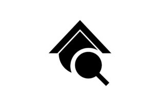 Download Free House Search Glyph Vector Icon Graphic By Riduwan Molla for Cricut Explore, Silhouette and other cutting machines.