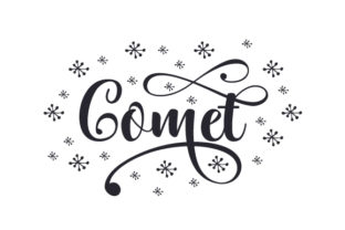 Comet Christmas Craft Cut File By Creative Fabrica Crafts