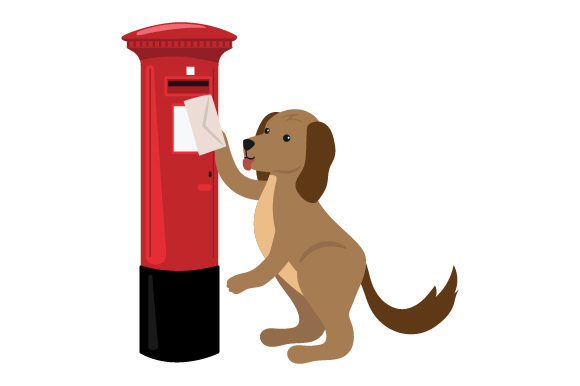Download Free Postal Dog Svg Cut File By Creative Fabrica Crafts Creative for Cricut Explore, Silhouette and other cutting machines.