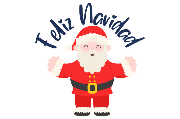 Download Free Feliz Navidad Con Santa Svg Cut File By Creative Fabrica Crafts for Cricut Explore, Silhouette and other cutting machines.