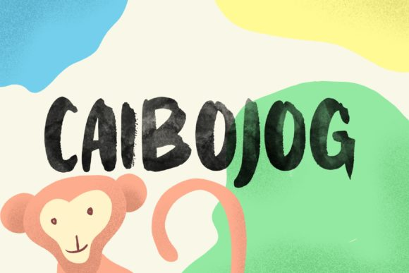 Print on Demand: Caibojog Display Font By Alit Design