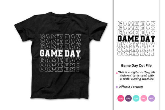 Print on Demand: Game Day Graphic Crafts By iprintasty