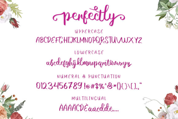 Print on Demand: Perfectly Script & Handwritten Font By EmbunStudio - Image 6