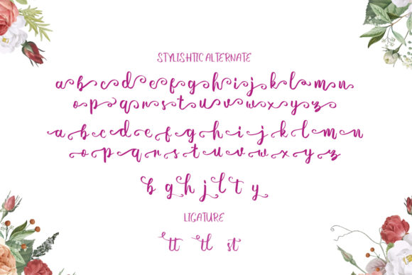 Print on Demand: Perfectly Script & Handwritten Font By EmbunStudio - Image 7