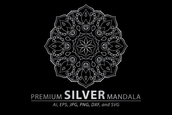 Download Free Mandala Pack Drawing Vector Art Graphic By Redsugardesign for Cricut Explore, Silhouette and other cutting machines.