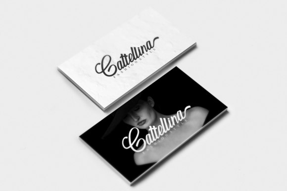 Print on Demand: Rallina Script & Handwritten Font By zainstudio - Image 5