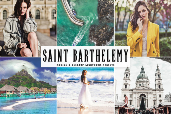 Print on Demand: Saint Barthelemy Lightroom Preset Graphic Actions & Presets By Creative Tacos