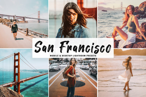 Print on Demand: San Francisco Lightroom Presets Graphic Actions & Presets By Creative Tacos