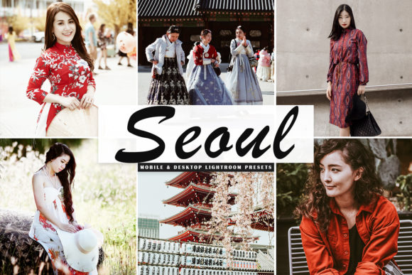 Print on Demand: Seoul Lightroom Presets Pack Graphic Actions & Presets By Creative Tacos