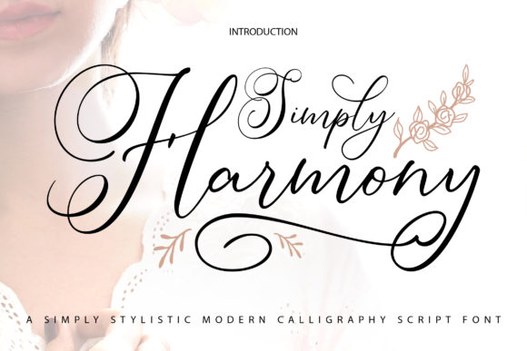 Print on Demand: Simply Harmony Script & Handwritten Font By Vunira