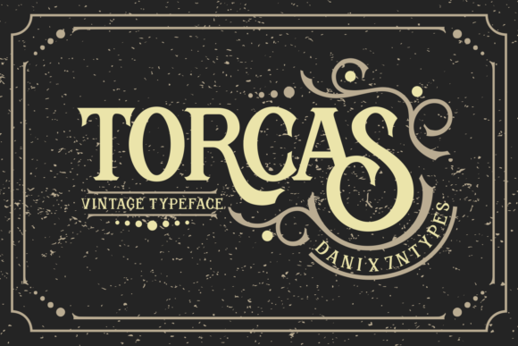 Print on Demand: Torcas Serif Font By Dani (7NTypes)