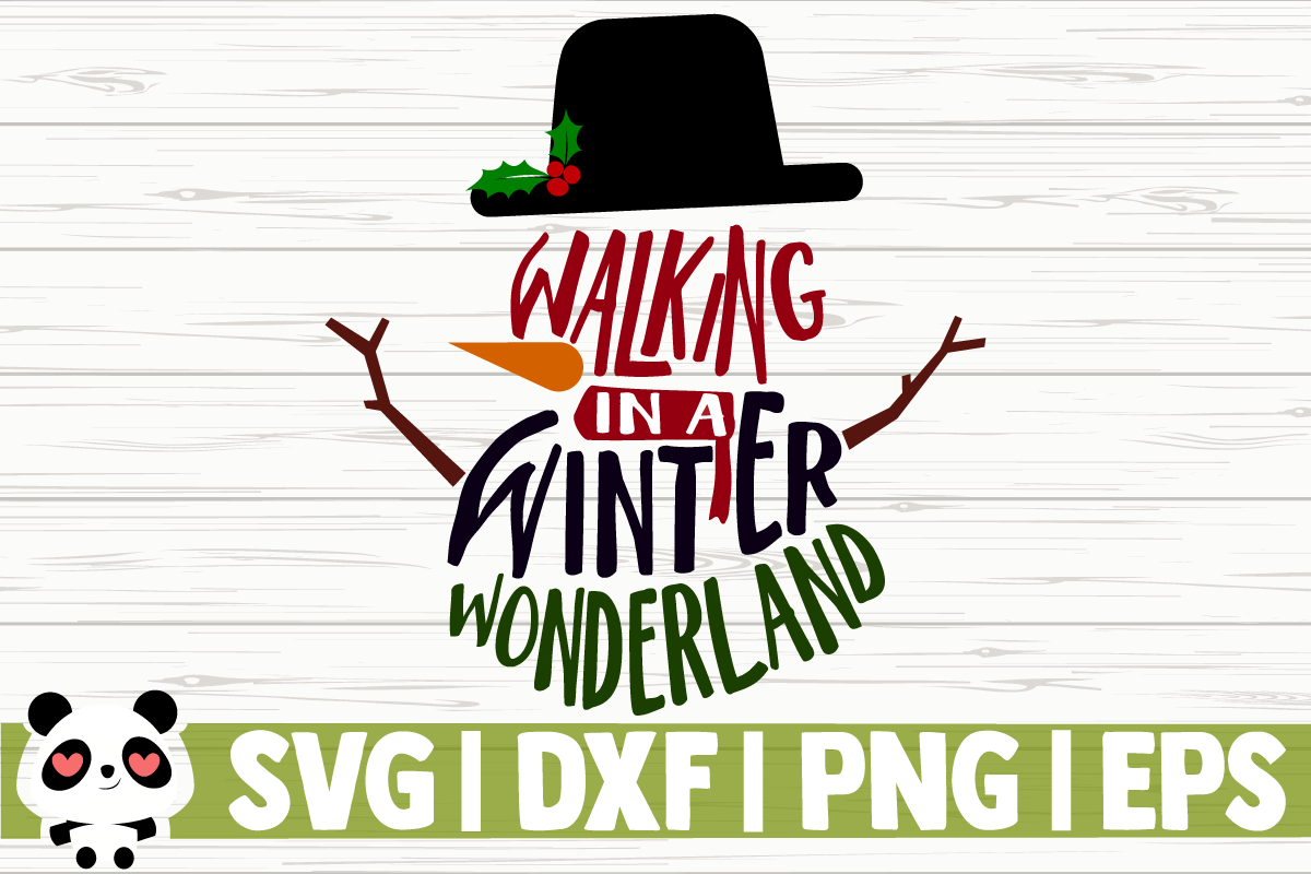 Download Free Walking In A Winter Wonderland Graphic By Creativedesignsllc for Cricut Explore, Silhouette and other cutting machines.