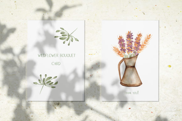 Watercolor Wildflower Bouquet Set Graphic Illustrations By Maya Navits - Image 11