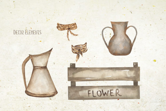 Watercolor Wildflower Bouquet Set Graphic Illustrations By Maya Navits - Image 3