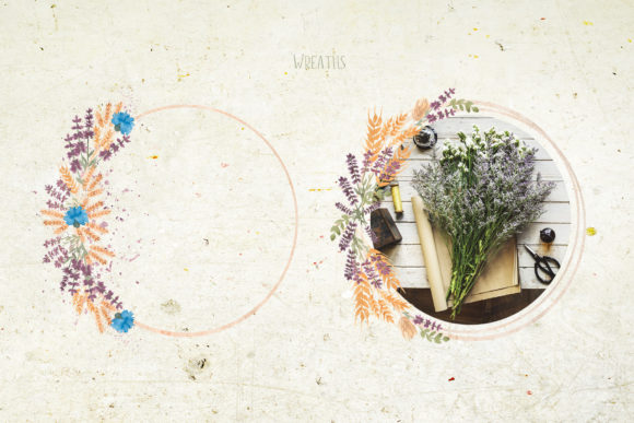 Watercolor Wildflower Bouquet Set Graphic Illustrations By Maya Navits - Image 5